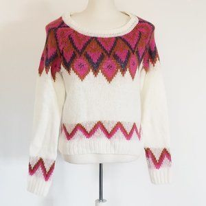 Sweaters - Nordic Style Wool Blend Sweater (S/M)